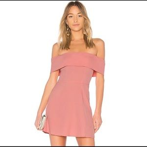 By The Way X REVOLVE Aubrey Off Shoulder Dress